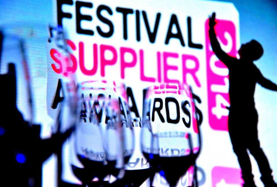 Winners decided for Festival Supplier Awards 2016